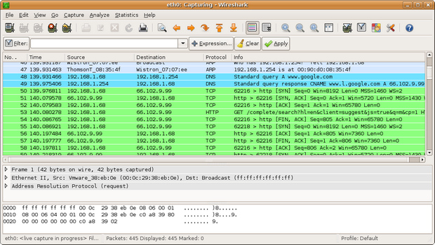 Wireshark screenshot (620 pix)