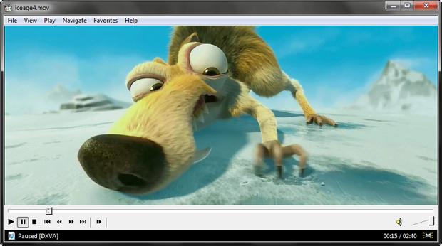 Media Player Classic - Home Cinema screenshot (620 pix)