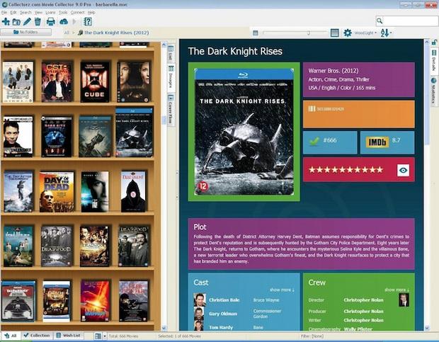 Movie Collector screenshot (620 pix)