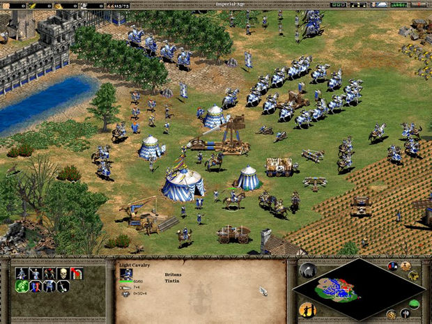 Age of Empires II screenshot (620 pix)