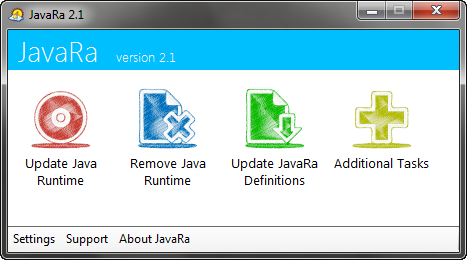 JavaRa 2.1 screenshot