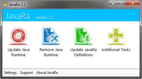 JavaRa 2.1 screenshot