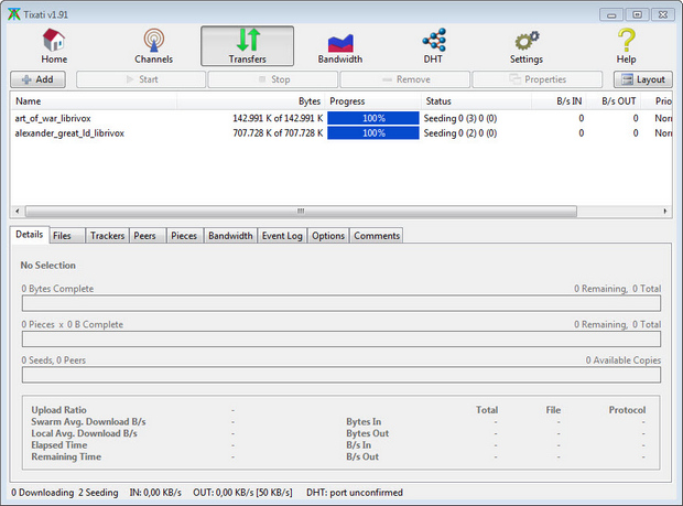 Tixati screenshot (620 pix)
