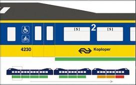 NS Reisplanner Xtra met realtime druktemeter