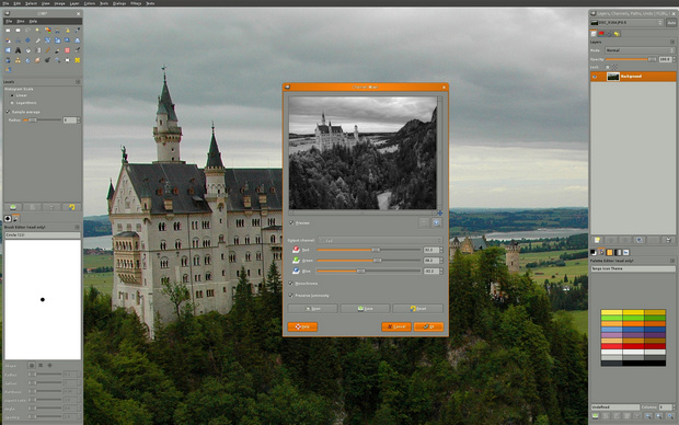 Gimp screenshot (620 pix)