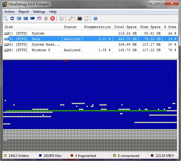 UltraDefrag screenshot (620 pix)