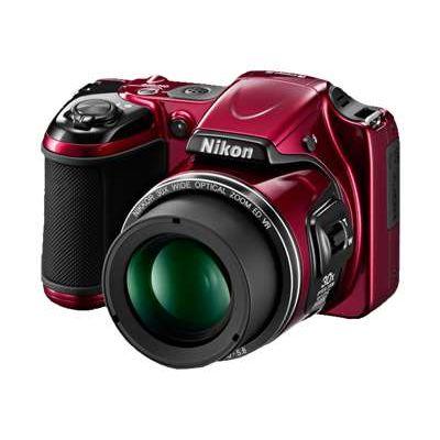 Nikon Coolpix L820 Rood - Reviews - Tweakers