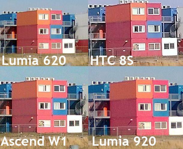 HTC 8S vs Huawei Ascend W1 vs Lumia 620