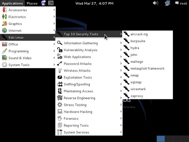 Kali Linux screenshot (620 pix)