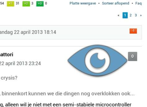 Eye-tracking bij Galaxy S4