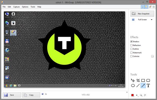 WinSnap screenshot (620 pix)