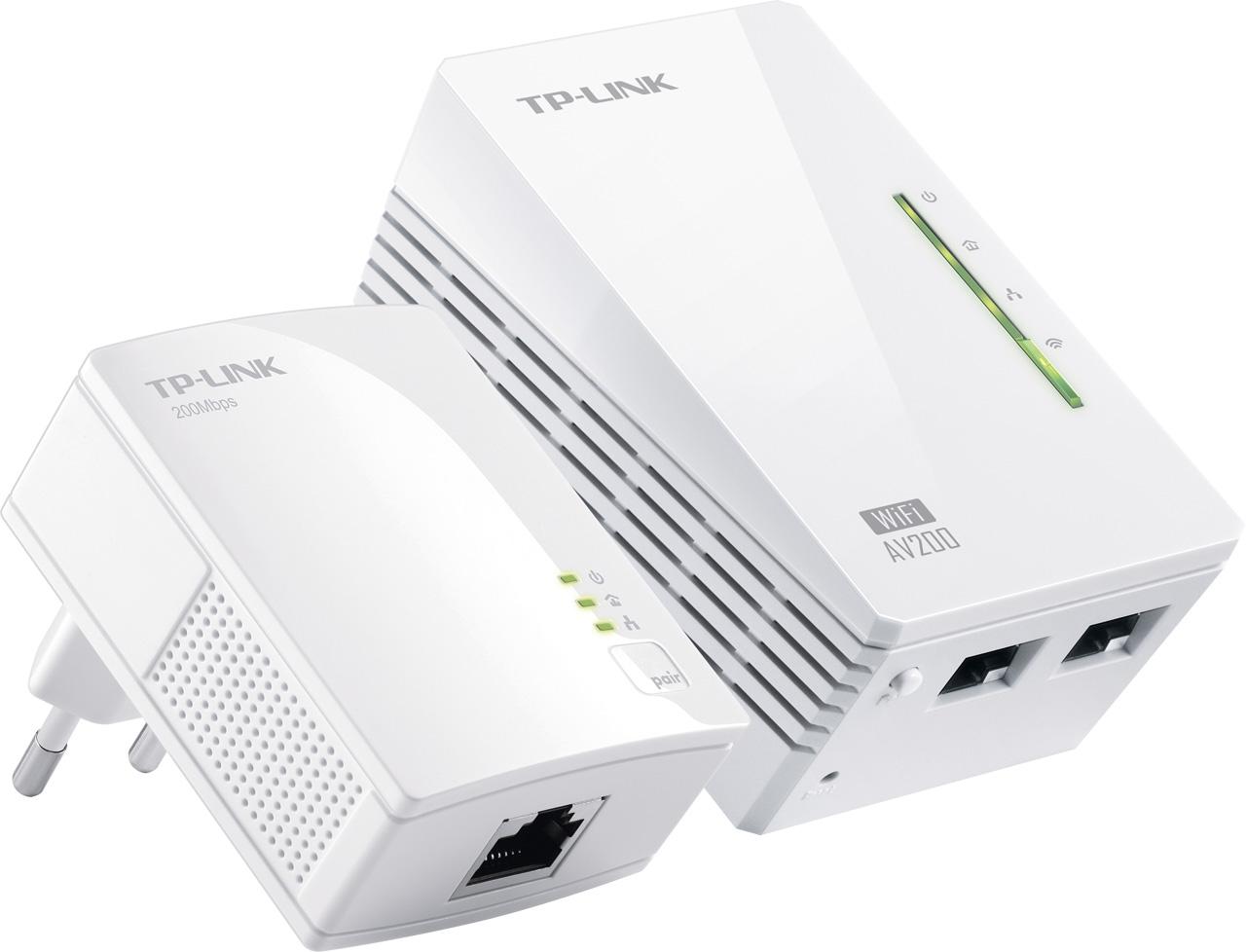 tp link 300 mbps av200 wi fi powerline extender starter kit prijzen tweakers. Black Bedroom Furniture Sets. Home Design Ideas
