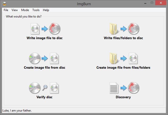 Software-update: ImgBurn 2 4 1 0 - Computer - Downloads