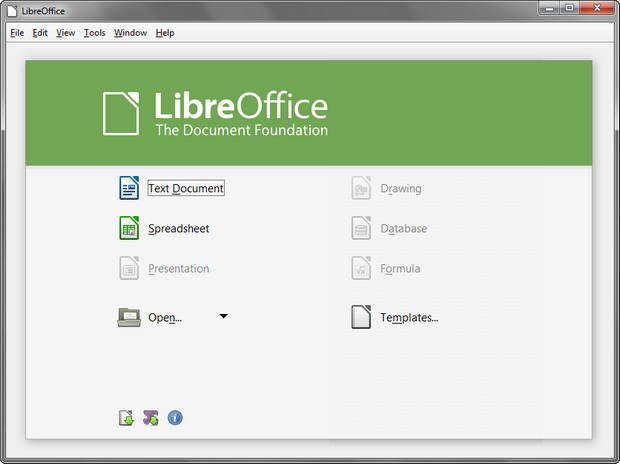 LibreOffice 4.1 screenshot (620 pix)