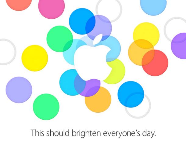 Uitnodiging Apple-evenement 10 september