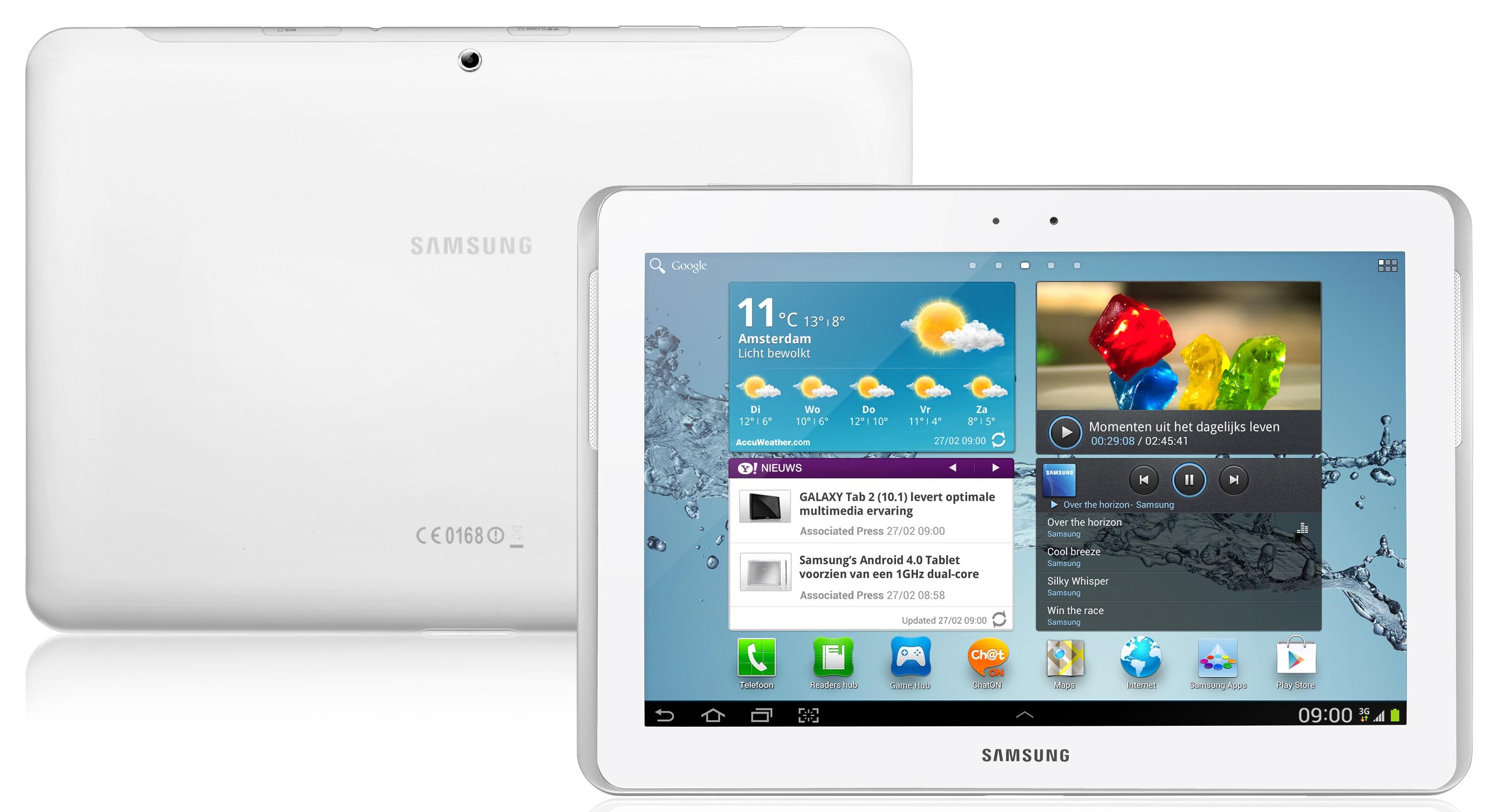 samsung galaxy tab 2 10 1 wifi 16gb wit   prijzen   tweakers