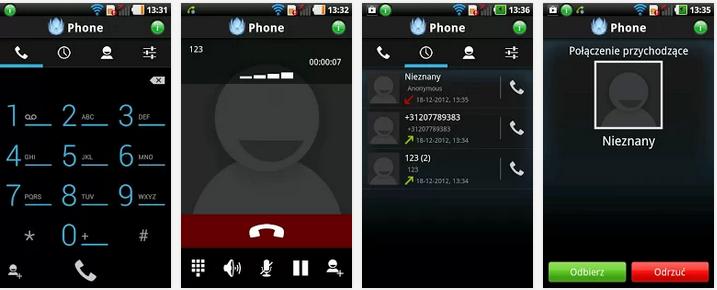 Screenshot UPC Phone