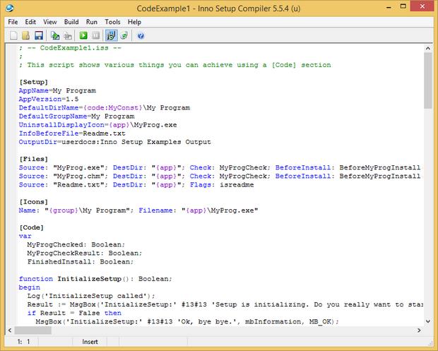 Inno Setup screenshot (620 pix)