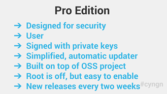 CyanogenMod edities
