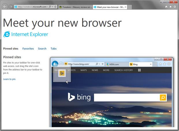 Internet Explorer 11 screenshot (620 pix)
