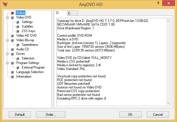 AnyDVD screenshot (620 pix)