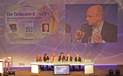 Paneldiscussie op Telecom Time