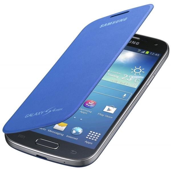 Samsung Galaxy S4 Mini Flip Cover BlueSamsung Galaxy S4 Mini Blue