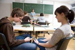 Sms in de klas