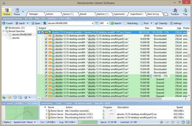Software-update: NewsLeecher 7.0 bèta 1 - Computer - Downloads ...