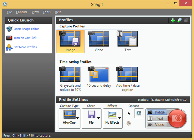 Snagit 11.4 screenshot (620 pix)