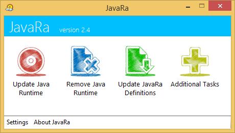 JavaRa 2.4 screenshot