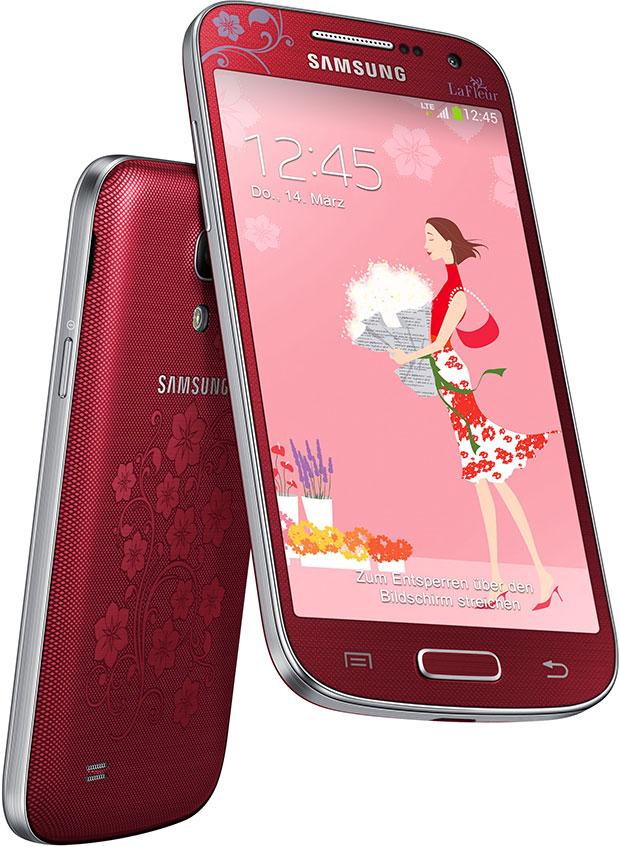 Samsung Galaxy S4 Mini La Fleur Rood Prijzen Tweakers