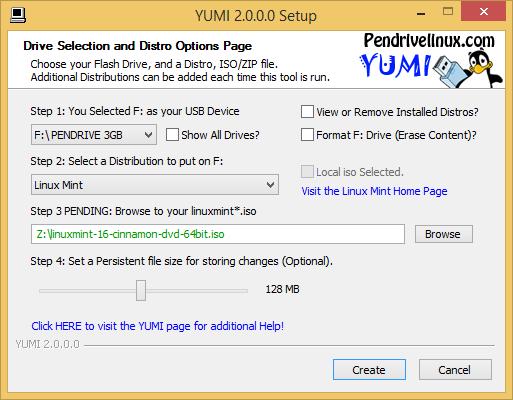 YUMI screenshot (620 pix)