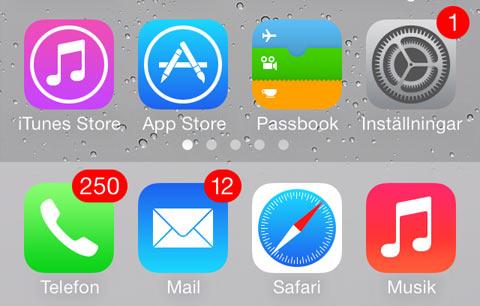 Lek in iOS toont willekeurig aantal pushberichten