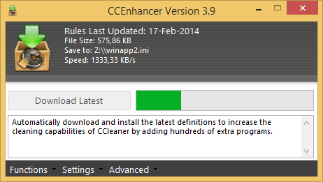 CCEnhancer 3.9 screenshot