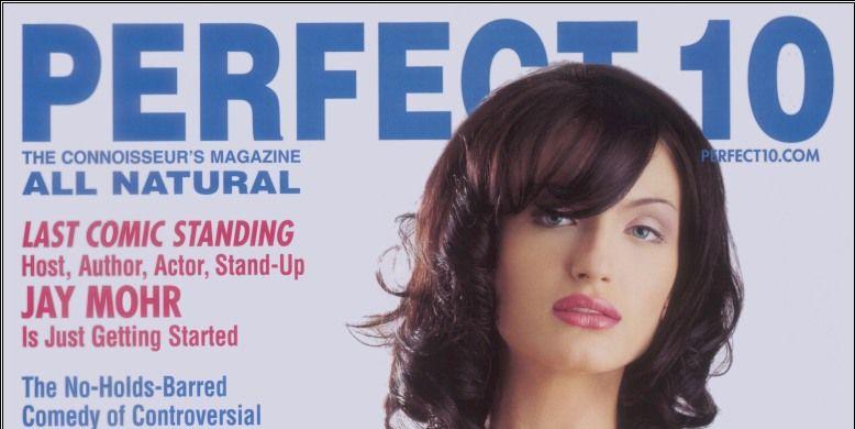 Deel van de cover van een uitgave van Perfect10 (bron: Perfect10)
