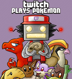 Twitch Plays Pokémon fanart