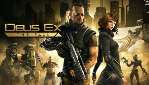 Deus Ex: The Fall steam logo