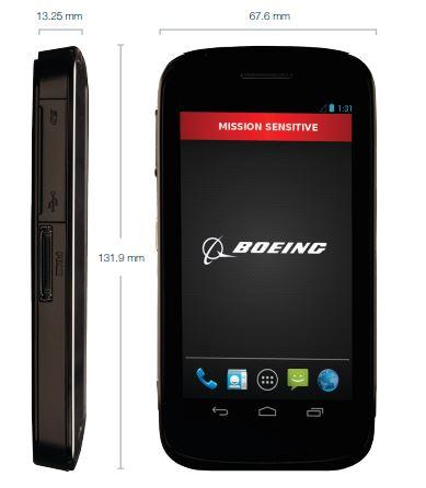 Boeing Black, beveiligde smartphone met Android