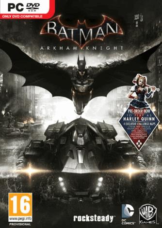 Batman: Arkham Knight PC cover art