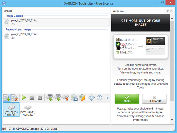 Daemon Tools Lite screenshot (620 pix)