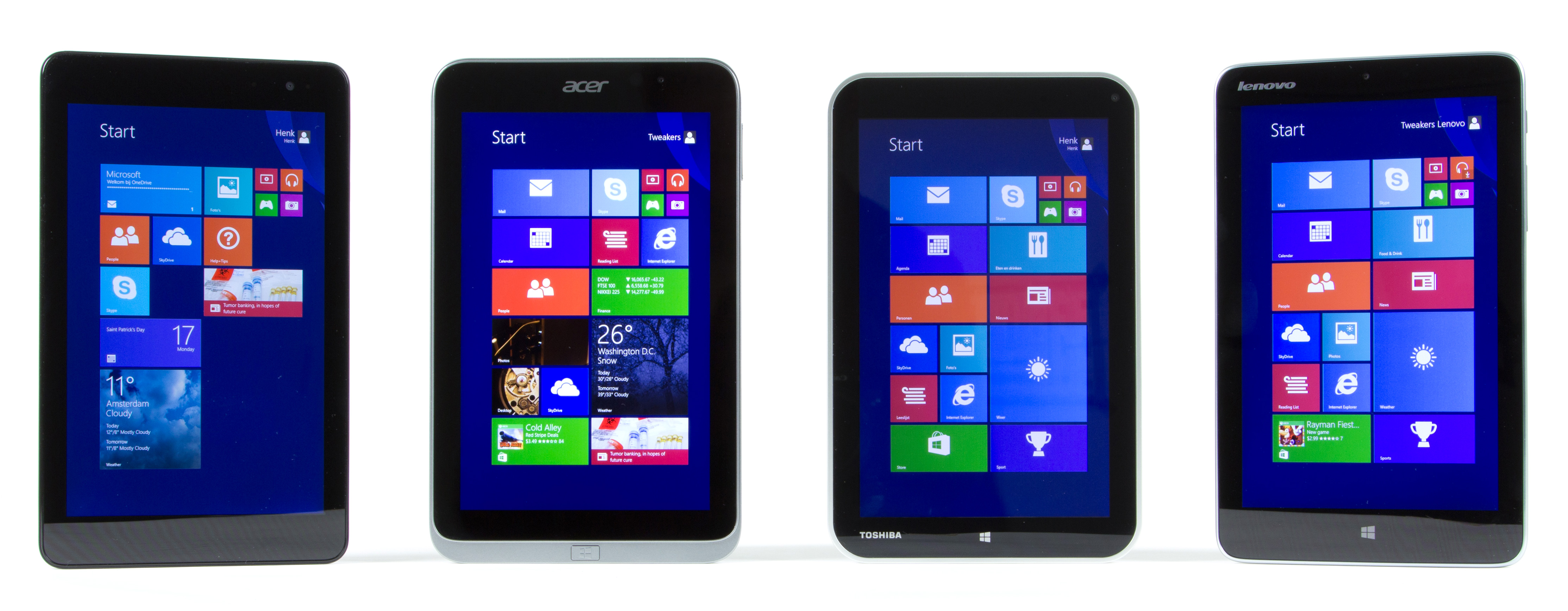 windows tablets in het klein schermkwaliteit niemand is. Black Bedroom Furniture Sets. Home Design Ideas