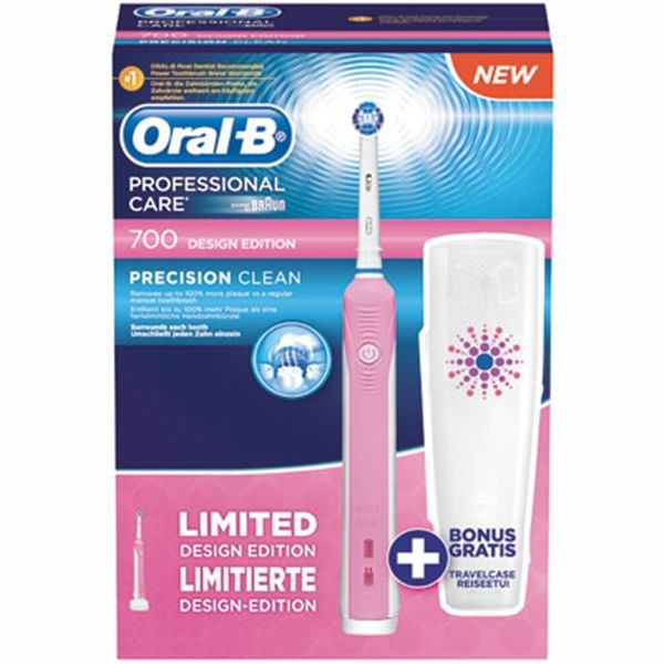 oral b professional care 700 pink limited edition specificaties tweakers. Black Bedroom Furniture Sets. Home Design Ideas
