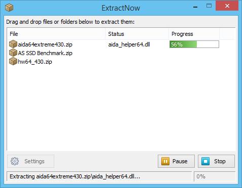 ExtractNow 4.82 screenshot