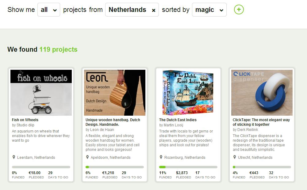 Kickstarter NL