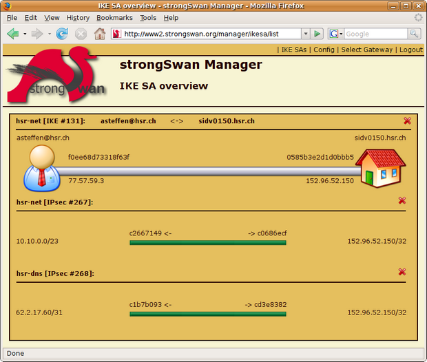 Software-update: strongSwan 5....