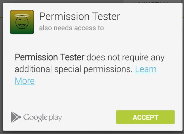 Permission Tester-app update