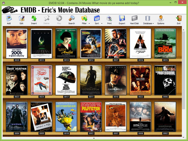 EMDB 2.04 screenshot (620 pix)