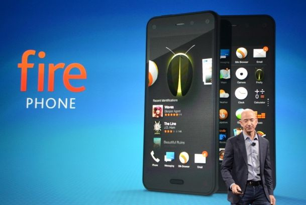 Amazon Fire Phone (foto: The Verge)