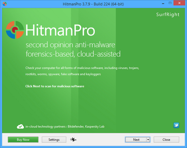 HitmanPro 3.7.9 screenshot (620 pix)